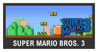 Super Smash Bros. Strife stage box - Super Mario Bros. 3