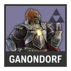 Super Smash Bros. Strife character box - Ganondorf