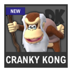 Super Smash Bros. Strife Assist box - Cranky Kong