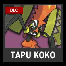 Super Smash Bros. Strife character box - Tapu Koko