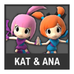 Super Smash Bros. Strife Assist box - Kat & Ana