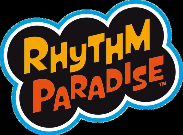 File:Rhythm Paradise logo.png