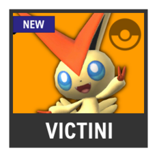 Super Smash Bros. Strife character box - Victini
