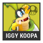 Super Smash Bros. Strife character box - Iggy Koopa
