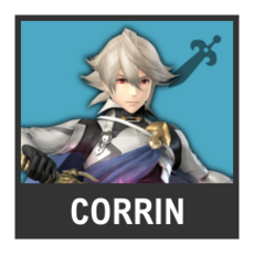 Super Smash Bros. Strife character box - Corrin