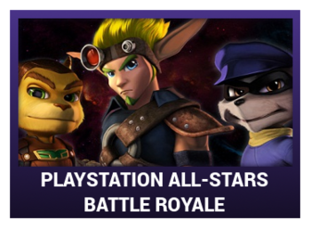 J-Games game box - PlayStation All-Stars Battle Royale