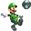 Luigi render test mario strikers charged by luigimariogmod-d5r7rk8