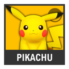 Super Smash Bros. Strife character box - Pikachu