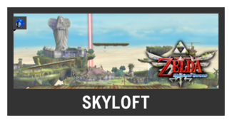 Super Smash Bros. Strife stage box - Skyloft