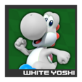 ACL Mario Kart 9 character box - White Yoshi