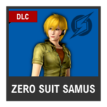 Super Smash Bros. Strife character box - Zero Suit Samus MOM