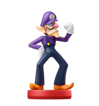 Waluigi Amiibo Video Games Fanon Wiki Fandom