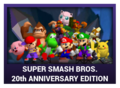 J-Games game box - Super Smash Bros 20 Anniversary