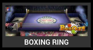 Super Smash Bros. Strife stage box - Boxing Ring