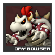 ACL Mario Kart 9 character box - Dry Bowser