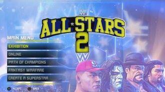WWE All Stars 2 Concept Main Menu, Match Types & Roster (Read Description)