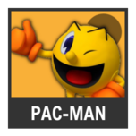 Super Smash Bros. Strife character box - Pac-Man GA