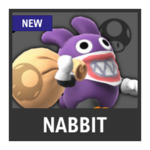 Super Smash Bros. Strife Assist box - Nabbit