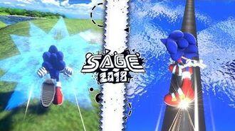 Sonic Fan Games Sonic Cosmic Eternity (SAGE 2018)