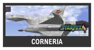 Super Smash Bros. Strife stage box - Corneria