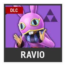 Super Smash Bros. Strife character box - Ravio