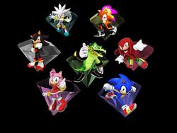 Sonic Adventure 3 - main characters