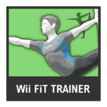 Super Smash Bros. Strife character box - Wii Fit Trainer M