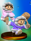 Ice Climber Trophy (Smash) melee