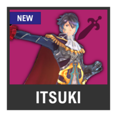Super Smash Bros. Strife character box - Itsuki