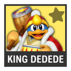 Super Smash Bros. Strife character box - King Dedede