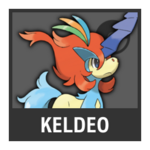 Super Smash Bros. Strife Pokémon box - Keldeo