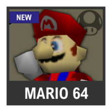 Super Smash Bros. Strife character box - Mario 64