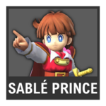 Super Smash Bros. Strife Assist box - Sablé Prince
