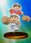 Ice Climber Trophy (Smash 2) melee