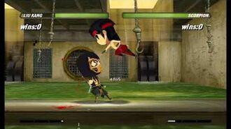 Mortal Kombat Cartoon Style (2018) Beta Fan-made Game