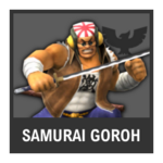 Super Smash Bros. Strife Assist box - Samurai Goroh