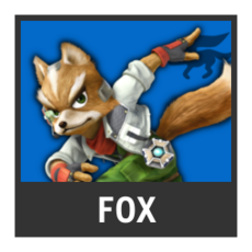 Super Smash Bros. Strife character box - Fox