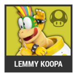 Super Smash Bros. Strife character box - Lemmy Koopa