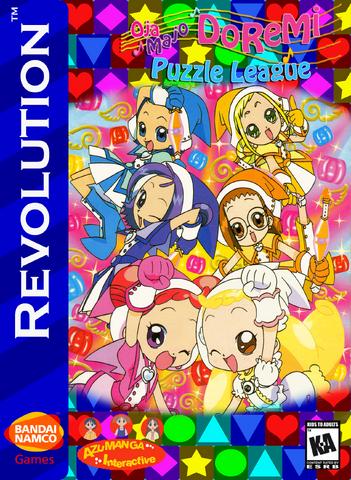 File:Ojamajo DoReMi Puzzle League Box Art 1.png