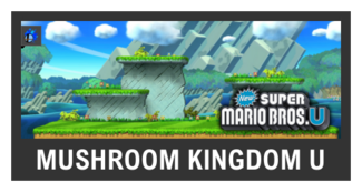 Super Smash Bros. Strife stage box - Mushroom Kingdom U