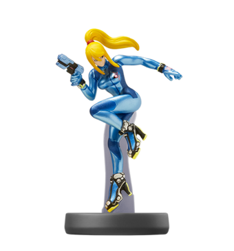Zero Suit Samus Amiibo Video Games Fanon Wiki Fandom