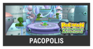 Super Smash Bros. Strife stage box - Pacopolis