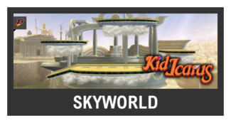 Super Smash Bros. Strife stage box - Skyworld