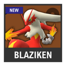 Super Smash Bros. Strife character box - Blaziken
