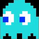 Inky Pac-Man original sprite