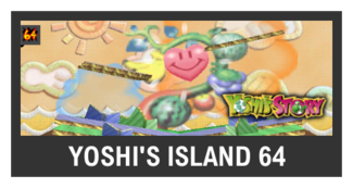 Super Smash Bros. Strife stage box - Yoshi's Island 64