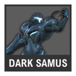 Super Smash Bros. Strife Assist box - Dark Samus