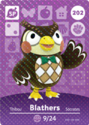 Blathers - AC amiibo card