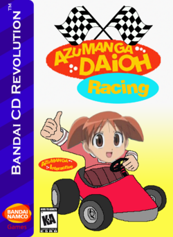 Azumanga Daioh Racing Box Art 4