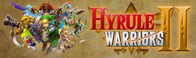 Hyrule Warriors II - eShop banner